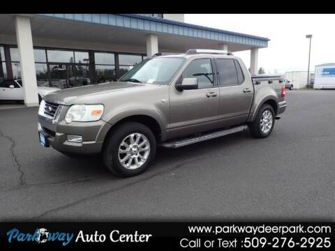 2007 Ford Explorer Sport Trac for sale at PARKWAY AUTO CENTER AND RV in Deer Park WA