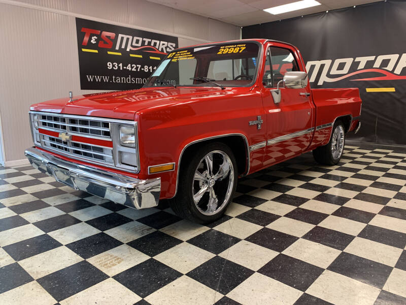 1987 Chevrolet R/V 10 Series for sale at T & S Motors in Ardmore TN