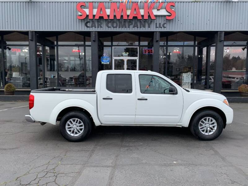 2017 Nissan Frontier for sale at Siamak's Car Company llc in Salem OR