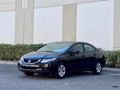 2014 Honda Civic for sale at Carfornia in San Jose CA