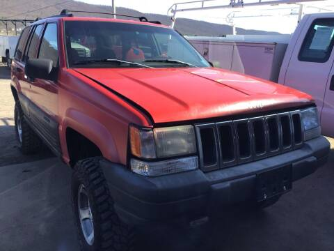 1998 Jeep Grand Cherokee for sale at Troys Auto Sales in Dornsife PA