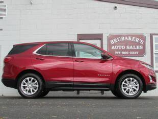 2018 Chevrolet Equinox for sale at Brubakers Auto Sales in Myerstown PA