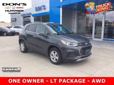 2018 Chevrolet Trax for sale at DON'S CHEVY, BUICK-GMC & CADILLAC in Wauseon OH