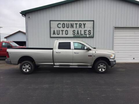 2010 Dodge Ram Pickup 3500 for sale at COUNTRY AUTO SALES LLC in Greenville OH