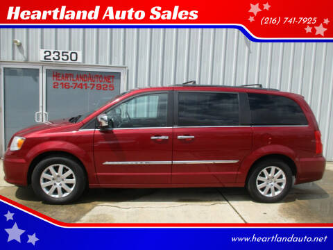 2012 Chrysler Town and Country for sale at Heartland Auto Sales in Medina OH