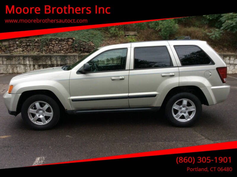 2008 Jeep Grand Cherokee for sale at Moore Brothers Inc in Portland CT