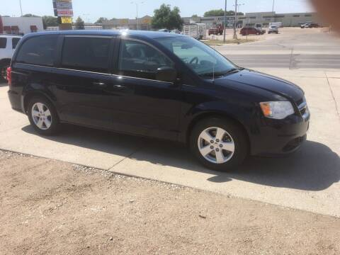 2013 Dodge Grand Caravan for sale at Bramble's Auto Sales in Hastings NE