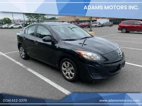 2010 Mazda MAZDA3 for sale at Adams Motors INC. in Inwood NY