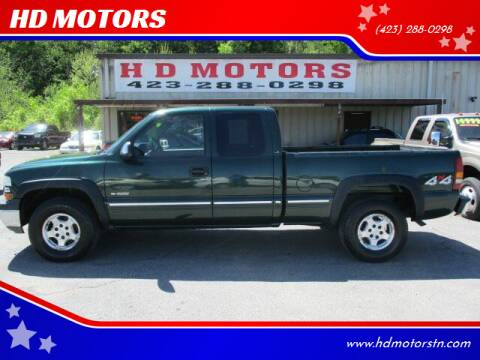 2001 Chevrolet Silverado 1500 for sale at HD MOTORS in Kingsport TN