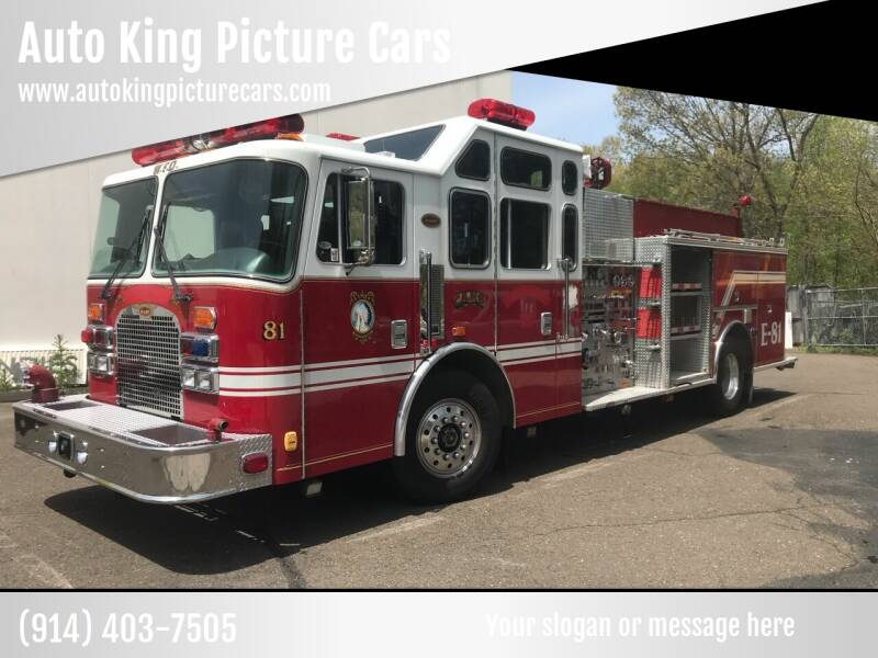 1998 KME Firetruck for sale at Auto King Picture Cars in Pound Ridge NY