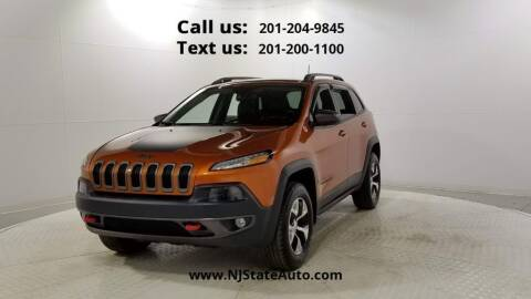 2016 Jeep Cherokee for sale at NJ State Auto Used Cars in Jersey City NJ