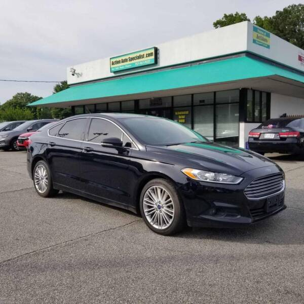 2016 Ford Fusion for sale at Action Auto Specialist in Norfolk VA