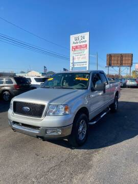 2005 Ford F-150 for sale at US 24 Auto Group in Redford MI