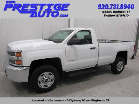 2016 Chevrolet Silverado 2500HD for sale at Prestige Auto Sales in Brillion WI