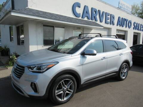 2017 Hyundai Santa Fe for sale at Carver Auto Sales in Saint Paul MN