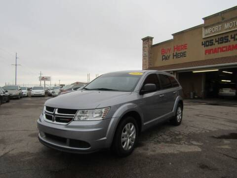 2015 Dodge Journey for sale at Import Motors in Bethany OK