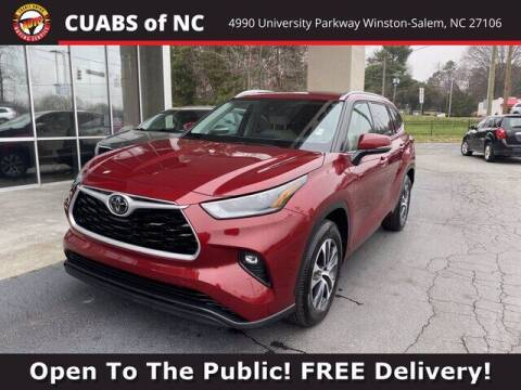 2021 Toyota Highlander for sale at Summit Credit Union Auto Buying Service in Winston Salem NC