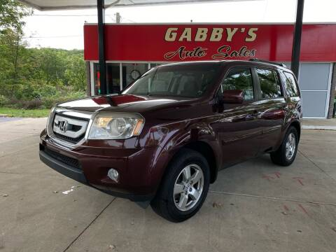 2011 Honda Pilot for sale at GABBY'S AUTO SALES in Valparaiso IN