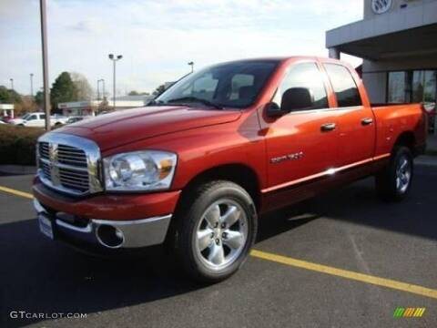 2007 Dodge Ram Pickup 1500 for sale at RTE 123 Village Auto Sales Inc. in Attleboro MA
