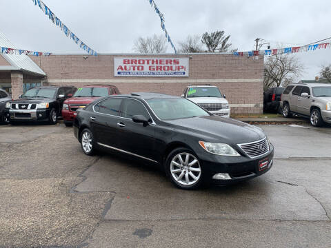 2007 Lexus LS 460 for sale at Brothers Auto Group in Youngstown OH