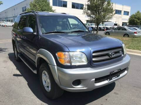 2001 Toyota Sequoia for sale at Dotcom Auto in Chantilly VA