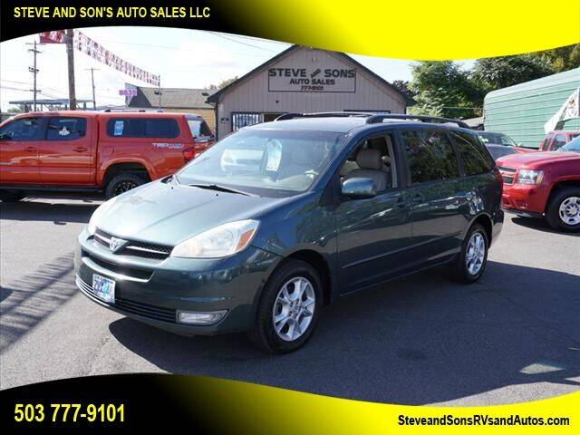2004 Toyota Sienna for sale at Steve & Sons Auto Sales in Happy Valley OR