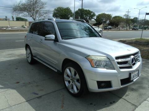 2010 Mercedes-Benz GLK for sale at Hollywood Auto Brokers in Los Angeles CA
