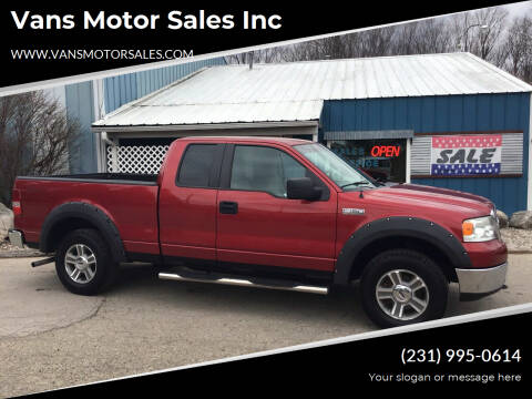 2007 Ford F-150 for sale at Vans Motor Sales Inc in Traverse City MI
