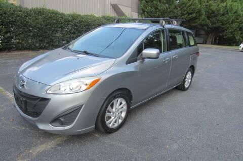 2012 Mazda MAZDA5 for sale at Key Auto Center in Marietta GA