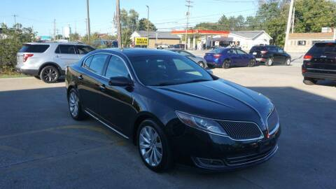 2015 Lincoln MKS for sale at World Auto Net in Cuyahoga Falls OH