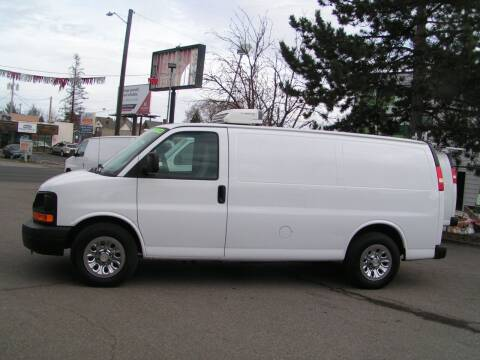 2012 Chevrolet Express Cargo for sale at Common Sense Motors in Spokane WA