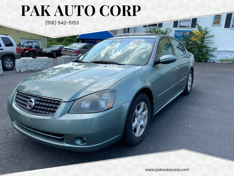 2005 Nissan Altima for sale at Pak Auto Corp in Schenectady NY