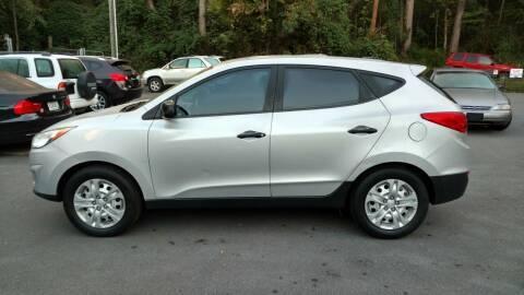 2010 Hyundai Tucson for sale at Buddy's Auto Inc in Pendleton SC