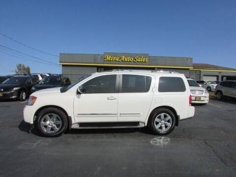 2013 Nissan Armada for sale at MIRA AUTO SALES in Cincinnati OH