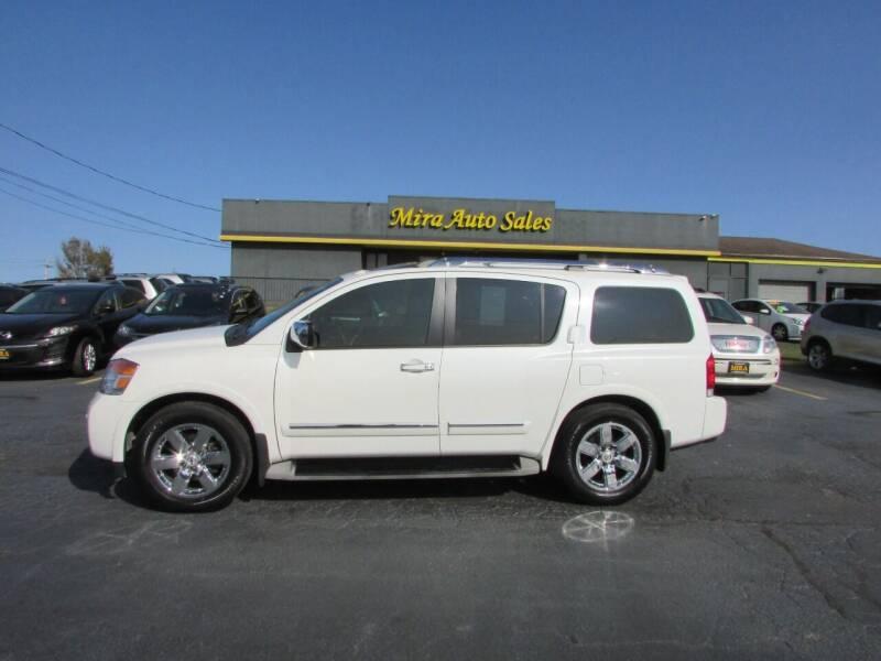 2013 Nissan Armada for sale at MIRA AUTO SALES in Cincinnati OH