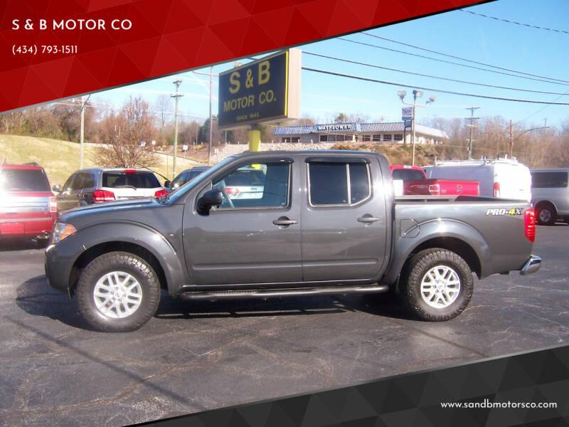 2015 Nissan Frontier for sale at S & B MOTOR CO in Danville VA