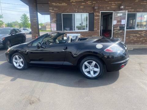 2009 Mitsubishi Eclipse Spyder for sale at ENZO AUTO in Parma OH