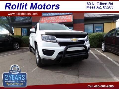 2016 Chevrolet Colorado for sale at Rollit Motors in Mesa AZ