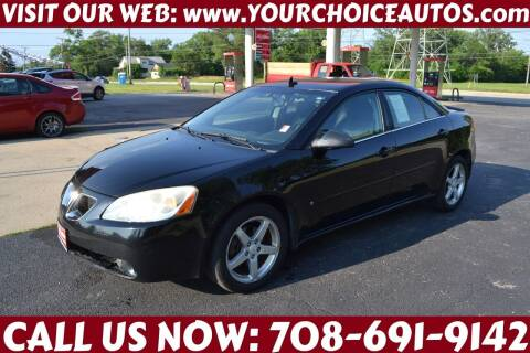 2008 Pontiac G6 for sale at Your Choice Autos - Crestwood in Crestwood IL