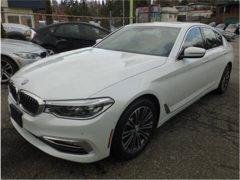 2017 BMW 5 Series for sale at Klean Carz in Seattle WA