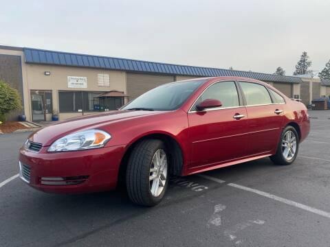 2014 Chevrolet Impala Limited for sale at Exelon Auto Sales in Auburn WA