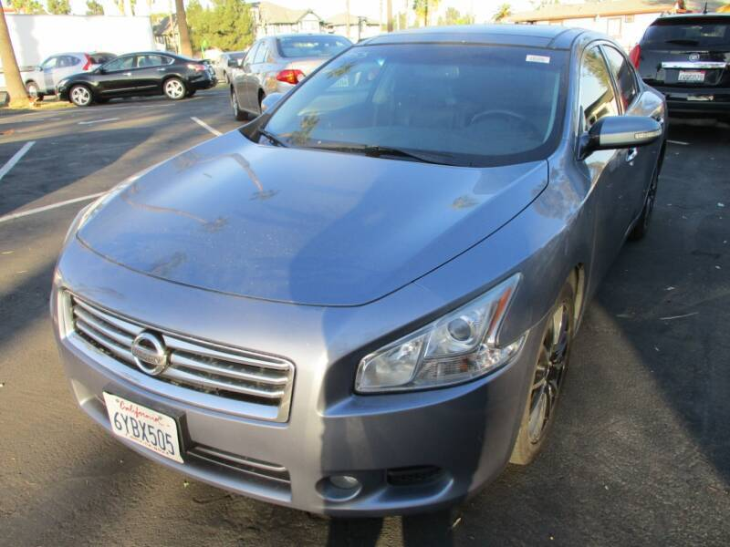 2012 Nissan Maxima for sale at F & A Car Sales Inc in Ontario CA