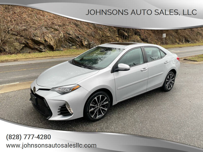 2018 Toyota Corolla for sale at Johnsons Auto Sales, LLC in Marshall NC