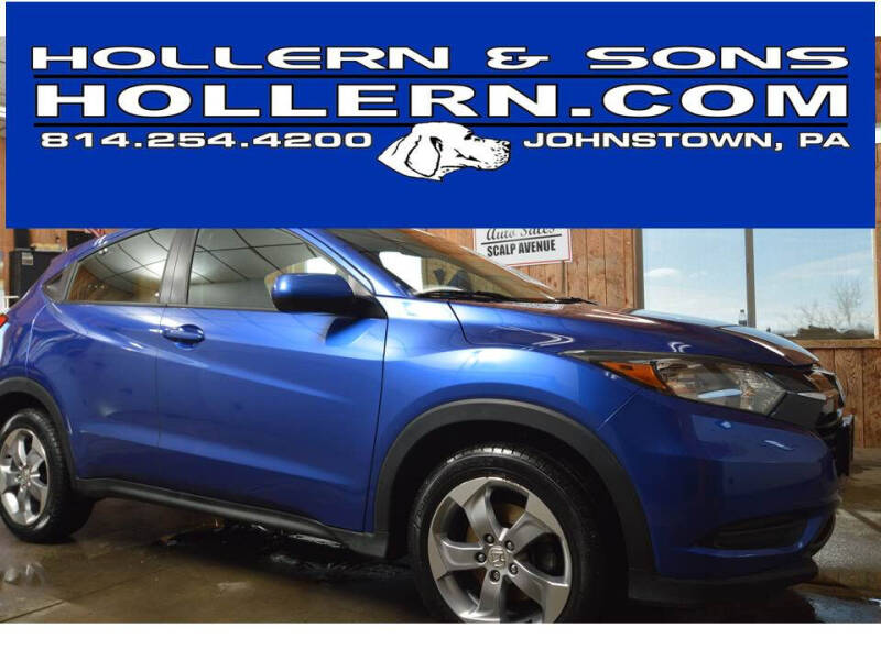 2018 Honda HR-V for sale at Hollern & Sons Auto Sales in Johnstown PA