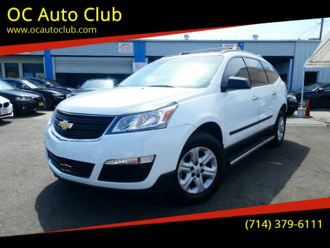 2017 Chevrolet Traverse for sale at OC Auto Club in Midway City CA