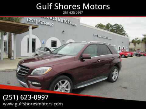 2014 Mercedes-Benz M-Class for sale at Gulf Shores Motors in Gulf Shores AL
