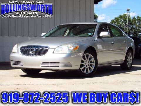 2009 Buick Lucerne for sale at Hollingsworth Auto Sales in Raleigh NC