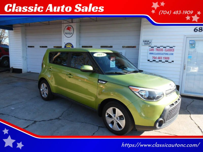 2015 Kia Soul for sale at Classic Auto Sales in Maiden NC