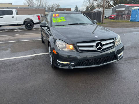 2012 Mercedes-Benz C-Class for sale at Low Price Auto and Truck Sales, LLC in Brooks OR
