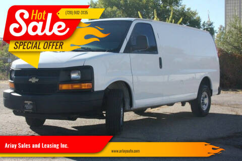 2015 Chevrolet Express Cargo for sale at Ariay Sales and Leasing Inc. - Pre Owned Storage Lot in Denver CO